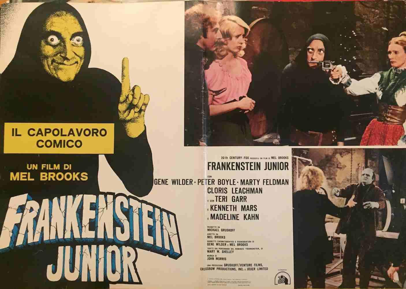 Fotobusta Frankenstein Junior