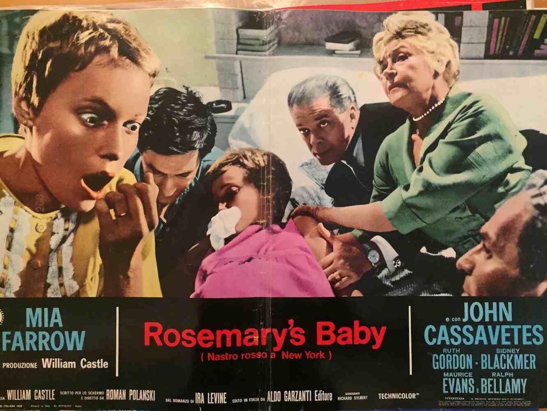 Fotobusta Rosemary's Baby