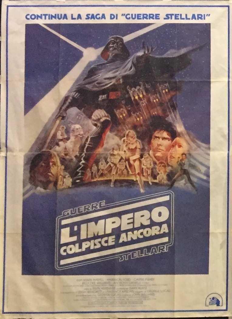 Manifesto L'Impero Colpisce Ancora