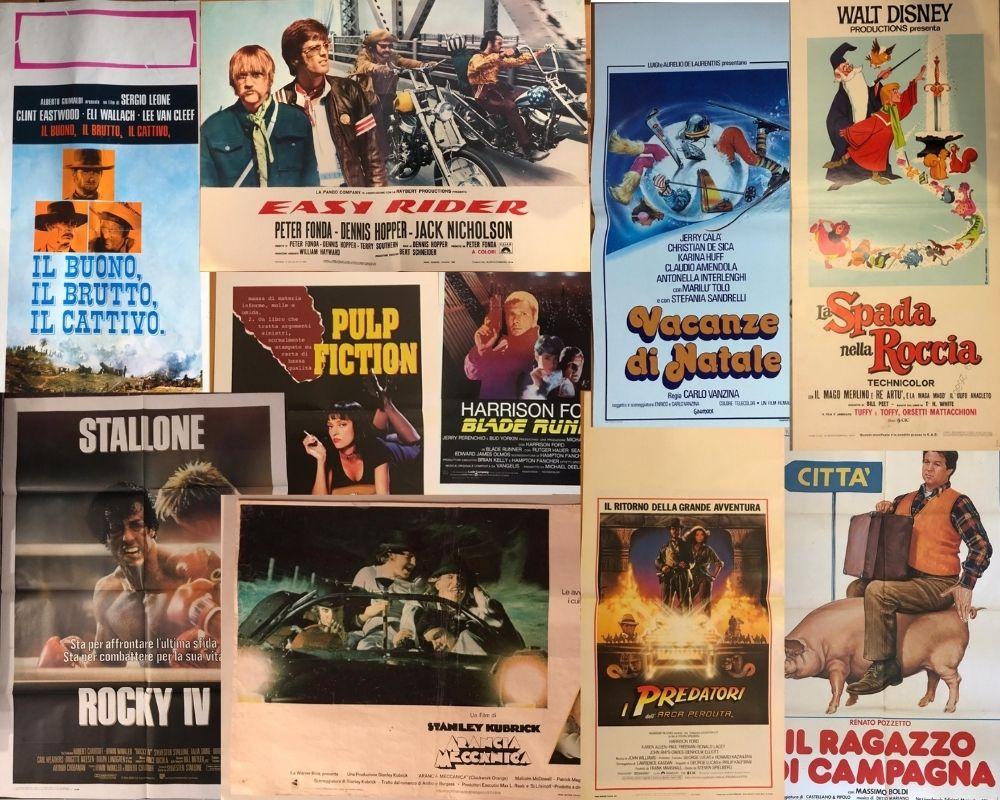 locandine originali del cinema